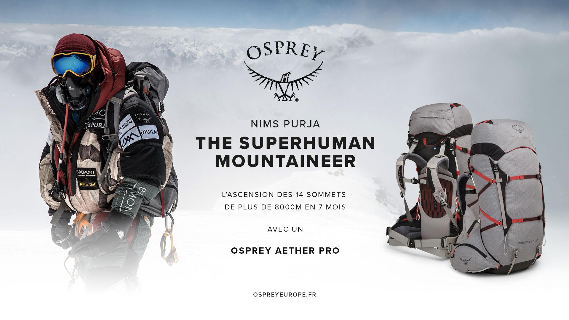 Osprey Partenaire