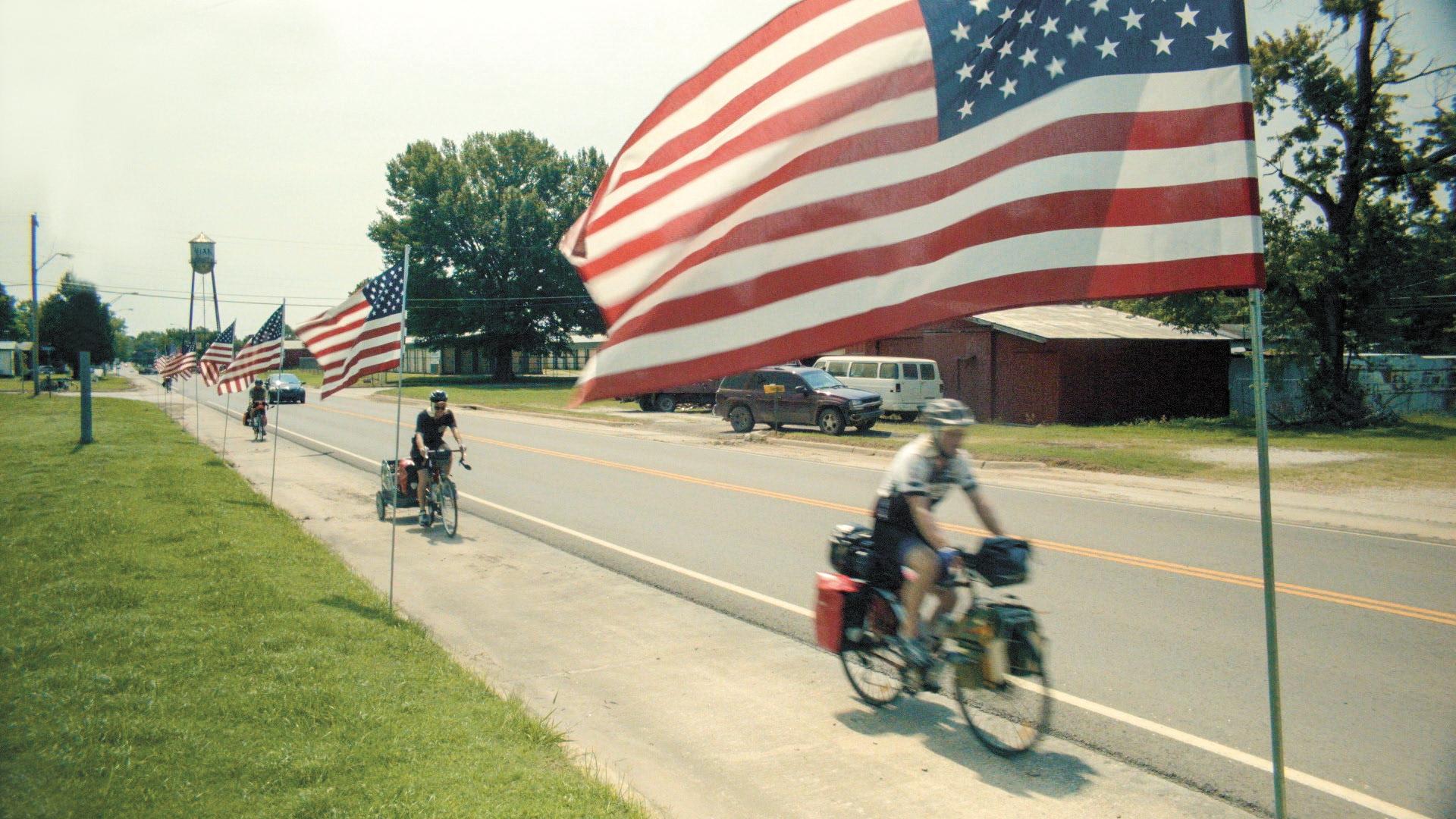 Image extraite du film The Bikes of Wrath