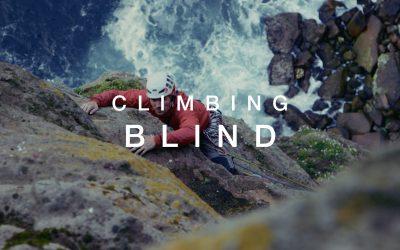Climbing Blind : Non-voyant, Jesse Dufton grimpe « Old Man of Hoy » en tête