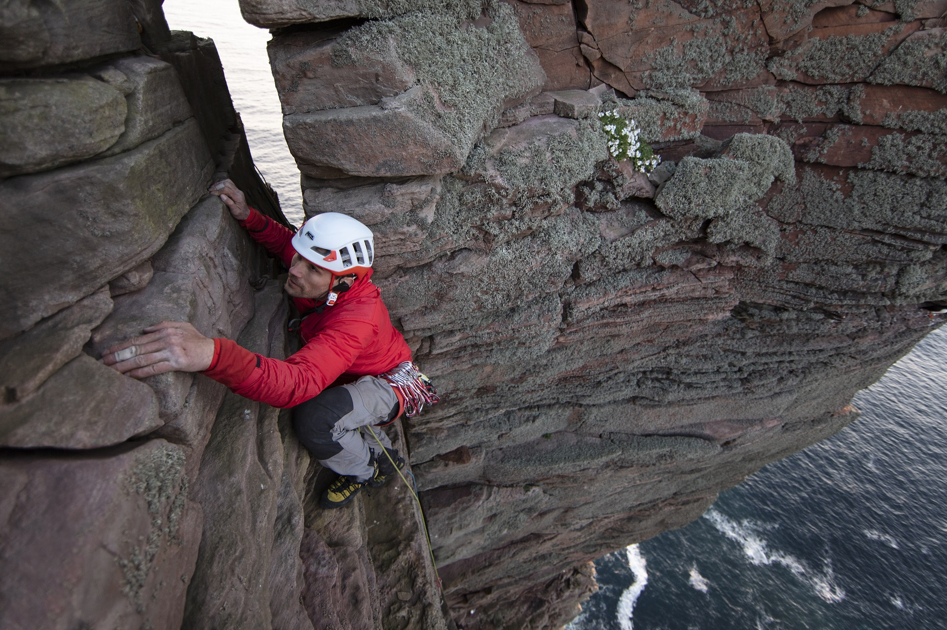 Climbing Blind - Jesse arrive au sommet
