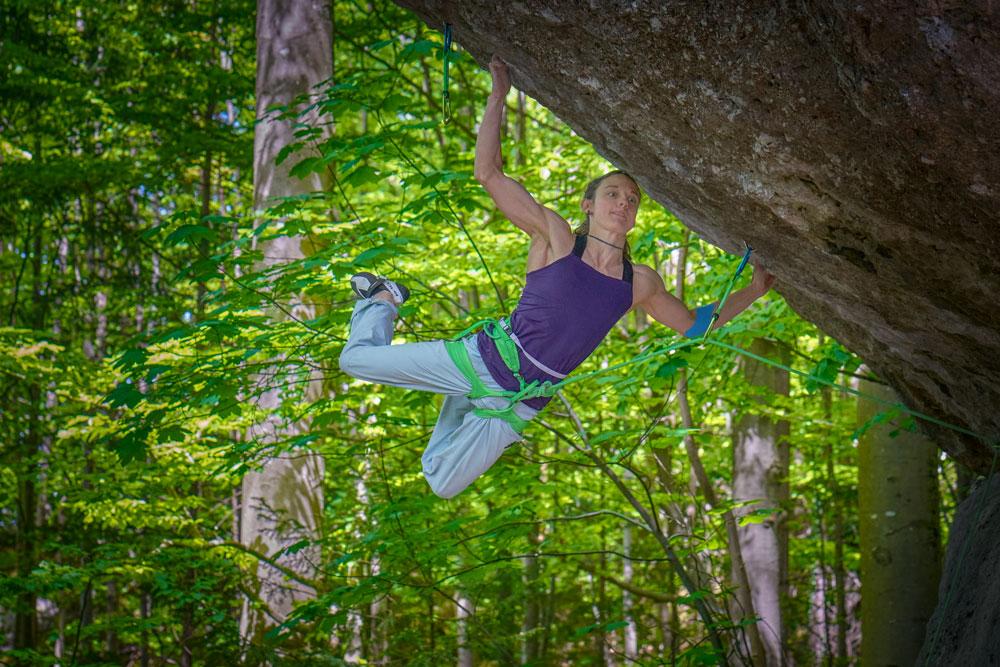 Mélissa Le Nevé : Première femme à grimper « Action Directe » (9a)